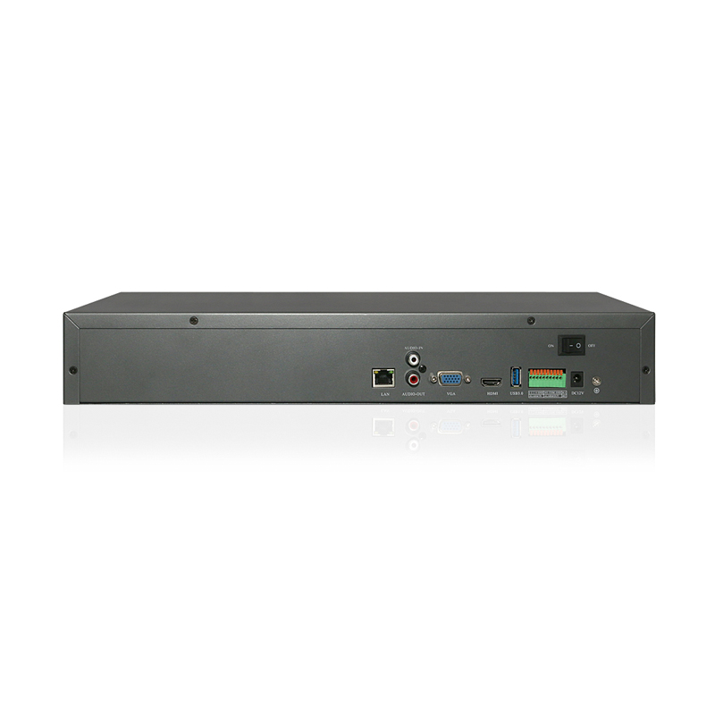 4k 36ch NVR with 4ch face recogniton